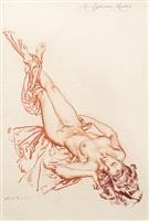 study of miss euphemia meeker by william russell flint