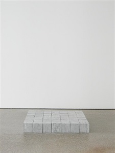 49 belgica blue square by carl andre