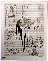 la traviata by saul steinberg