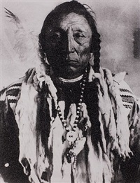 siksika chief- curley bear by russell young
