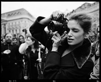 cindy crawford paparazzi by michel comte