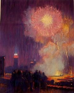 fire works grand finale by joseph peller