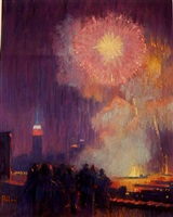 fire works grand finale by joseph peller