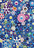 an homage to ikb 1957 b. by takashi murakami