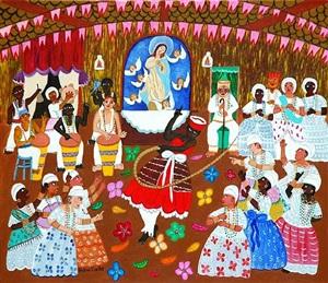 saida de inhansã (candomble rituals) by helena coelho