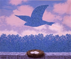 le printemps by rené magritte