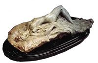 reclining nude by richard macdonald