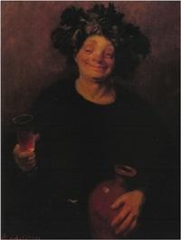 wine taster by alexandr kachkin