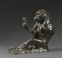 singe à la statuette by paul jouve