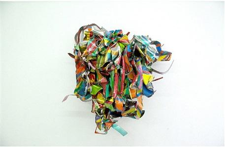 sculpture show st. moritz by john chamberlain