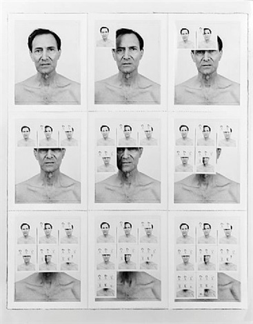 untitled (nine polaroids) by william anastasi