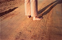 untitled, (feet on earth road) by william eggleston