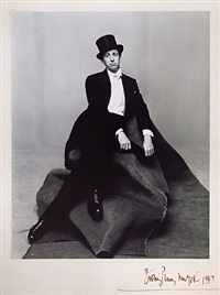 ray bolger by irving penn