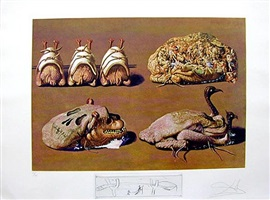 princely plier caprices by salvador dalí