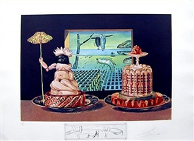 the 'i eat gala's' by salvador dalí
