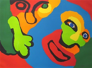 some people together v by karel appel