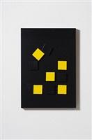 tavola magnetica (gialla/nero) by grazia varisco