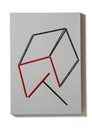 tavola magnetica (rosso/nero/grigio) by grazia varisco