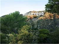 hiding in california no. 2 - hollywood, 2013 by liu bolin