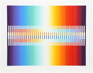 integrated rainbow by yaacov agam