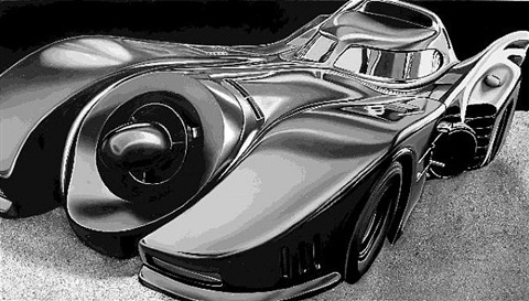 batmobile by cheryl kelley