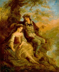 young lovers by william mulready
