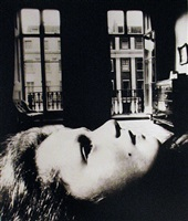 girl reclining at eaton place by bill brandt