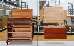 american dresser (diptych) by thuy-van vu
