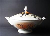 porcellana di albisola #5 by wifredo lam