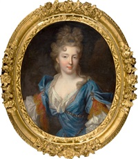 françoise-marie de bourbon, duchesse d'orléans (daughter of gaston d'orléans) by pierre gobert
