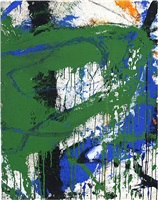 sans title by norman bluhm
