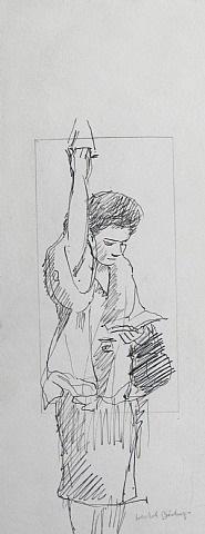 strap hanger by isabel bishop