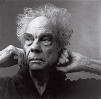 merce cunningham by annie leibovitz