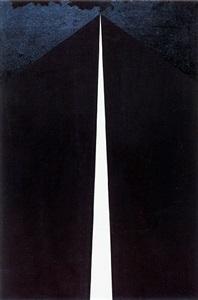 black #5 by allan d'arcangelo