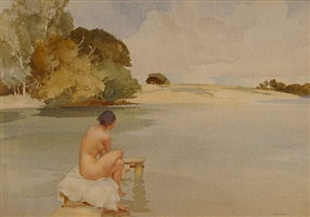 belinda's lagoon by william russell flint