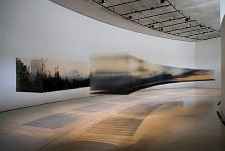 installation view, transparent view by nobuhiro nakanishi