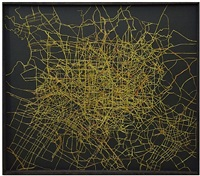 megacity (hauptstrassen von athen, madrid, hongkong, shanghai, sidney, melbourne, toronto, boston, sofia) by jochen höller