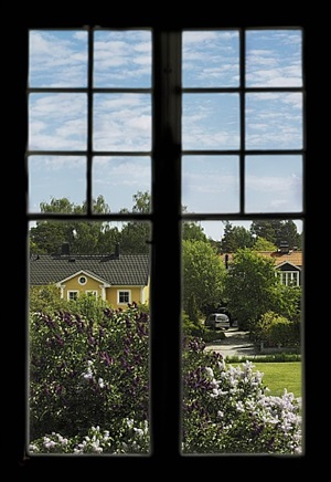 in between the bird-sherry and the lilac, ersta view #6 by anneè olofsson