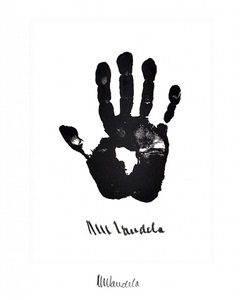 hand of africa by nelson mandela