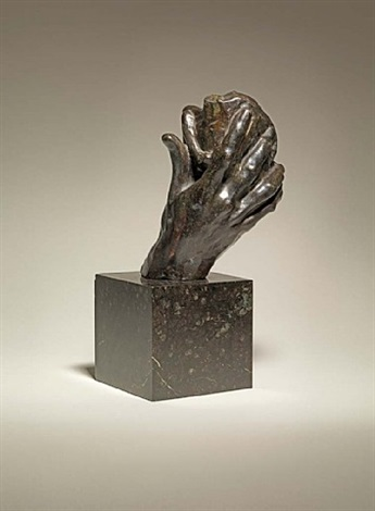 the hand of god by auguste rodin