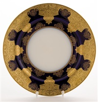 plates (10 works) by limoges