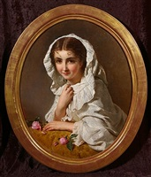 unnamed beauty by henry guillaume schlesinger