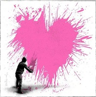 secret admirer by mr. brainwash