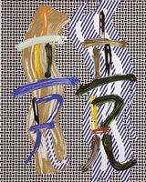 brushstroke contest by roy lichtenstein