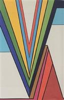 abstract composition by guy van den branden