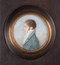 portrait of edouard boissier by louis ami arlaud-jurine