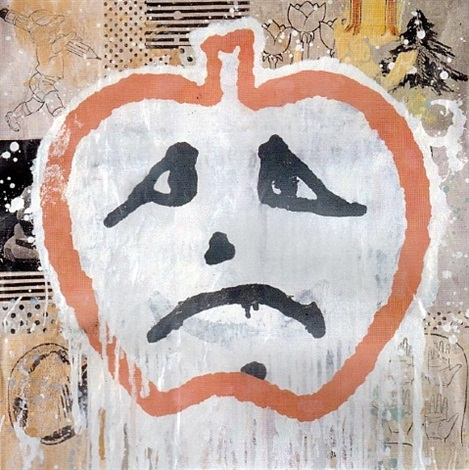 apple face by donald baechler
