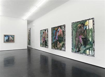 installationsansicht/ installation view by markus lüpertz