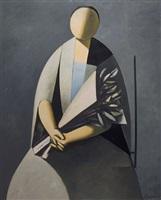 donna con fiori by duilio barnabé