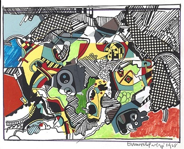 untitled collage ii by sir eduardo paolozzi